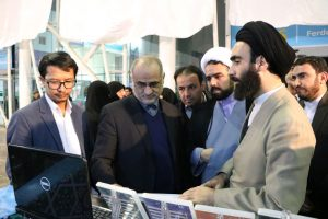 غرفه های مشاوره حوزه علمیه در نمایشگاه کتاب مشهد سال ۱۳۹۶ - 19