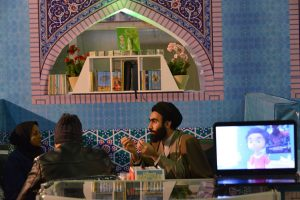 غرفه های مشاوره حوزه علمیه در نمایشگاه کتاب مشهد سال ۱۳۹۶ - 5
