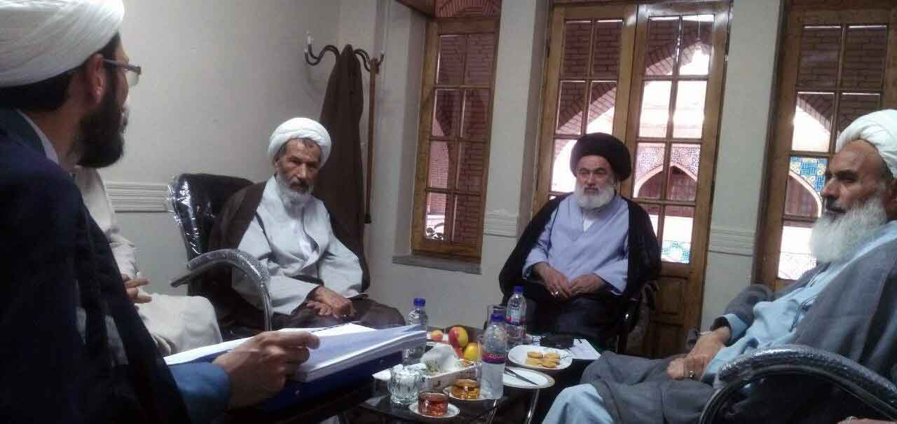 Ayatollah Rezazade visited Oral Exams of Xorasan Seminary