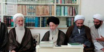 Basiji Professors And Elites Of Tehran Seminary Met Ayatollah Alavi Gorgani