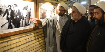 Visit Of The Authorities Of Xorasan Seminary From Imam Khomeini's Home In Najaf