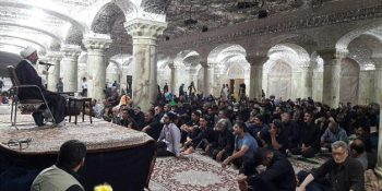 Pictorial Report / Dispatch Of 120 Students Of The Seminaries Of Hazrat Mahdi (May God Hasten His Reappearance) To The March Of Arba'een Of Imam Hosein (as)