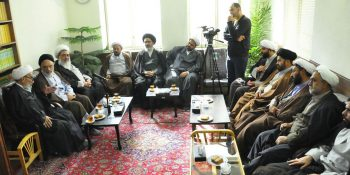 Pictorial Report / Visit Of The Director Of Xorasan Seminary With Ayatollah Ashrafi Shahrudi