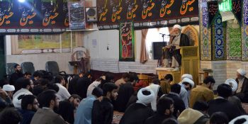 Pictorial Report / Visit Of The Secretary Of The Supreme Council Of Xorasan Seminary With The Students Of Imam Hassan Askari (As) Seminary In Mashhad
