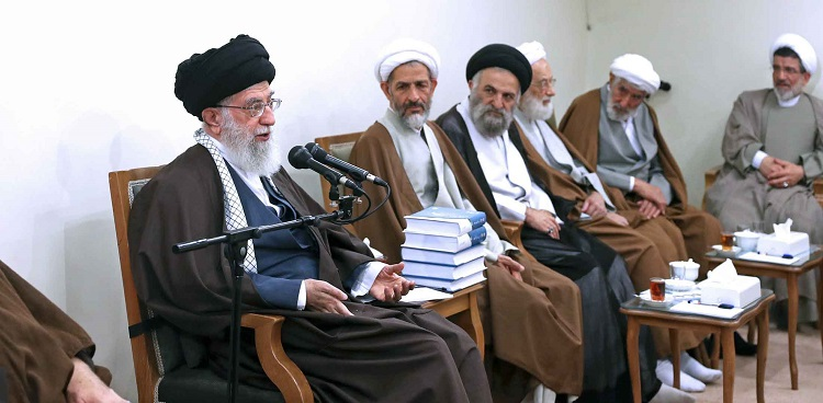 The Authorities Of The Hakim Conference In Tehran Meeting With The Supreme Leader Of The Islamic Revolution