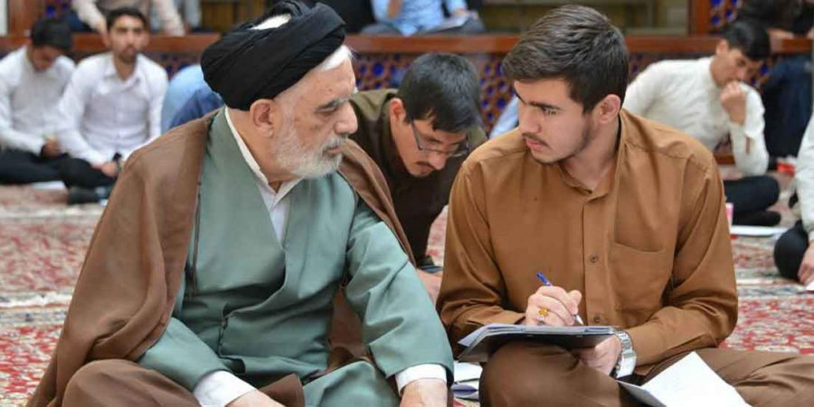 The Director Of Xorasan Seminary Visited The Entrance Exam Of Navvab Great Seminary