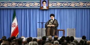 The Chairman Of The Islamic Parliament And MPs Met With Ayatollah Khamenei