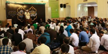 Pictorial Report / The Beginning Of Itikaf Of A Thousand Students Of Xorasan Seminary