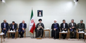 President Rouhani And His Cabinet Members Met With Ayatollah Khamenei