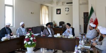 The Representative Of The Supreme Leader In Syria Met With The Manager Of Xorasan Seminary