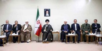 President And Cabinet Members Met With Supreme Leader