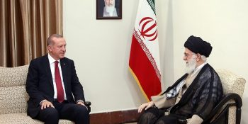 Ayatollah Khamenei Meets With The Turkish President