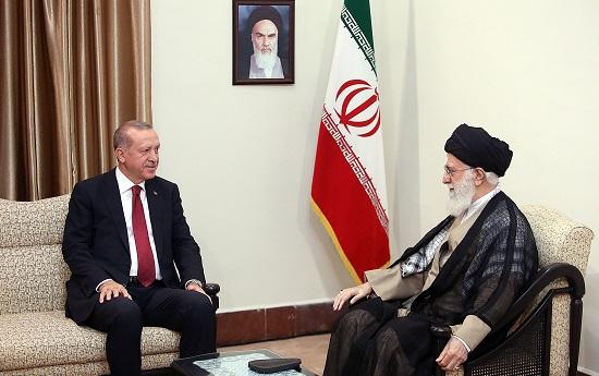 Ayatollah Khamenei Meets With The Turkish President