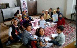 گزارش تصویری/ فعالیت گروه تبلیغی_جهادی مکتب نرجس علیها السلام