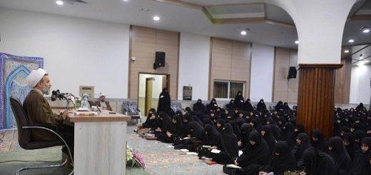 استاد پناهیان در نشست چالشهای حضور زنان در اجتماع